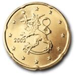 Евроцент Финляндия20а