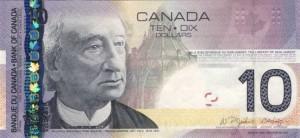 Канадский доллар10а