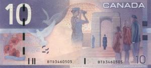 Канадский доллар10р