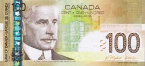 Канадский доллар100а