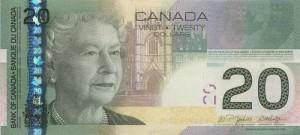 Канадский доллар20а
