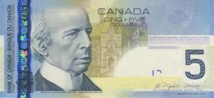 Канадский доллар5а