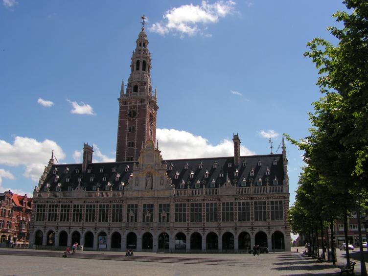 Католический университет Лёвена в Бельгии