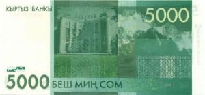 Киргизский сом5000р