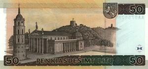 Литовский лит50р