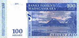 Малагасийский ариар100р