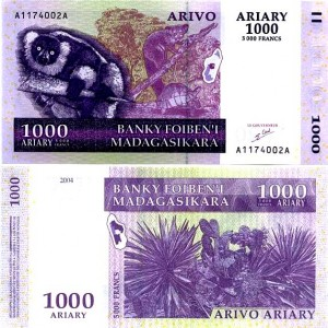 Малагасийский ариар1000