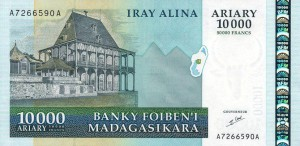 Малагасийский ариар10000а