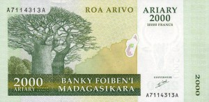 Малагасийский ариар2000а
