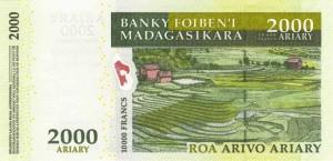 Малагасийский ариар2000р
