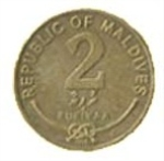 Мальдивская руфия 2а