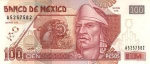 Мексиканское песо100а