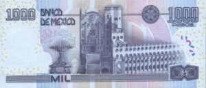 Мексиканское песо1000р