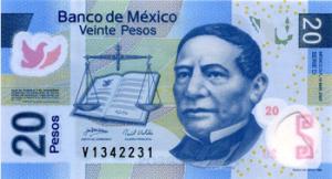 Мексиканское песо20а