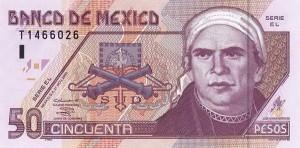 Мексиканское песо50а