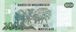 Мозамбикский метикал 1000р