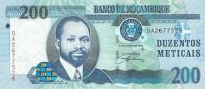 Мозамбикский метикал 200а
