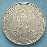 Немецкая марка пфенинг марка 1р