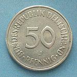Немецкая марка пфенинг50а