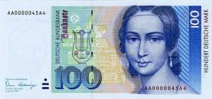 Немецкая марка100а