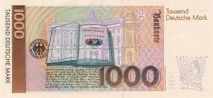 Немецкая марка1000р