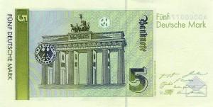Немецкая марка5р