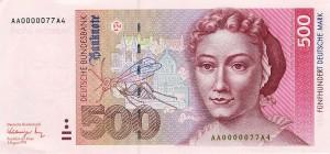 Немецкая марка500а