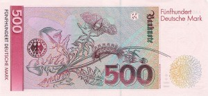 Немецкая марка500р