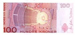 Норвежская крона100р