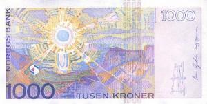 Норвежская крона1000р
