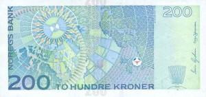 Норвежская крона200р