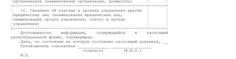 Образец анкеты соискателя лицензии по видам профессиональной деятельности на рынке ценных бумаг _005