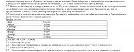 Образец договора аренды водителя _001