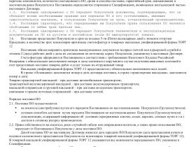 Образец договора поставки программного обеспечения _001