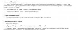 Образец договора розничной купли-продажи _001