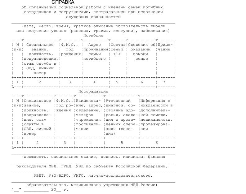 Справка 086 у образец новая форма 2018