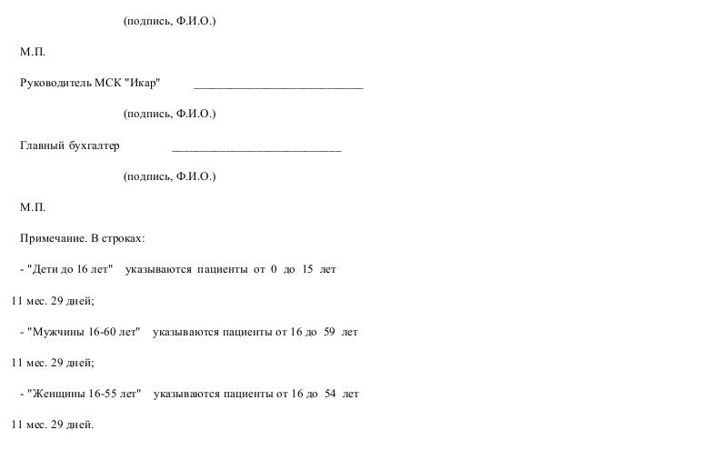 Образец справки N 1 к счетам-фактурам неидентифицированных пациентов, получивших медицинскую помощь _002