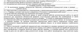 Образец трудового договора с начальником планово-экономического отдела_001