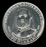 Парагвайский гуарани монета 1000р