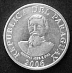 Парагвайский гуарани 100р