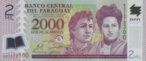Парагвайский гуарани 2000а