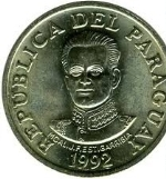 Парагвайский гуарани 50р