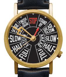Пароход-телеграфные часы