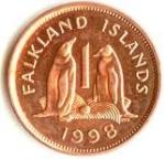 Пенс Фолклендских островов 1а