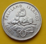 Пенс Фолклендских островов 10а