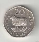Пенс Фолклендских островов 20а