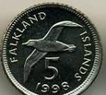Пенс Фолклендских островов 5а