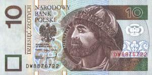Польский злотый10а