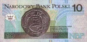 Польский злотый10р