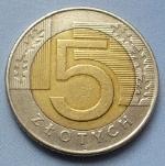 Польский злотый5а
